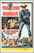 "Movie Posters:Western, The Lone Ranger and the Lost City of Gold (United Artists, 1958).One Sheet (27"" X 41""). Western.. ..."