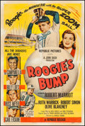 """Movie Posters:Sports, Roogie's Bump (Republic, 1954). One Sheet (27"""" X 41""""). Sports.. ..."""