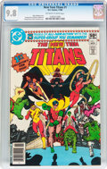Modern Age (1980-Present):Superhero, New Teen Titans #1 (DC, 1980) CGC NM/MT 9.8 Off-white to whitepages....