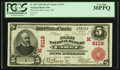 National Bank Notes:Ohio, Carey, OH - $5 1902 Red Seal Fr. 587 The First NB Ch. # (M)6119. ...