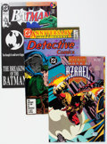 Modern Age (1980-Present):Superhero, Batman-Related Group of 90 (DC, 1981-94) Condition: Average NM-....(Total: 90 Comic Books)