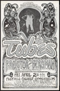 """Movie Posters:Rock and Roll, The Tubes at Foothill College (Rollie Grogan's Production ServiceCompany, 1976). Satin-Finish Concert Poster (11"""" X 17""""). R..."""