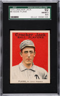 Baseball Cards:Singles (Pre-1930), 1915 Cracker Jack Eddie Plank #6 SGC 92 NM/MT+ 8.5....