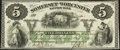 Obsoletes By State:Maryland, Salisbury, MD-Somerset and Worcester Savings Bank $5 Nov. 1, 1862. ...
