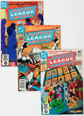 Modern Age (1980-Present):Superhero, Justice League of America Box Lot (DC, 1981-83) Condition: AverageVF/NM....