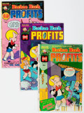 Bronze Age (1970-1979):Cartoon Character, Richie Rich Profits #1-47 Near Complete Run File Copy Short BoxGroup (Harvey, 1974-82) Condition: Average NM-....