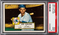 Baseball Cards:Singles (1950-1959), 1952 Topps Joe Collins #202 PSA Mint 9 - Pop Three, None Higher....