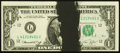 Error Notes:Ink Smears, Fr. 1908-L $1 1974 Federal Reserve Note. Extremely Fine.. ...