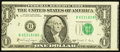 Error Notes:Miscellaneous Errors, Fr. 1915-B $1 1988A Federal Reserve Note. Very Fine.. ...