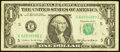 Error Notes:Inking Errors, Fr. 1921-E $1 1995 Federal Reserve Note. Very Fine.. ...