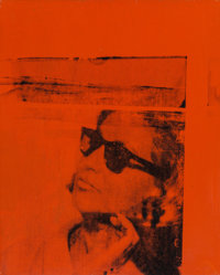 Andy Warhol (1928-1987) Ethel Scull, 1963 Synthetic polymer and silkscreen ink on canvas 19-3/4 x