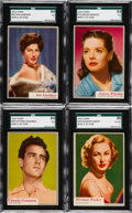 Non-Sport Cards:Sets, 1953 Topps Who-Z-At Star Complete Set (80). ...