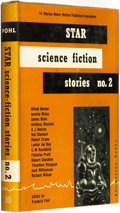 Books:Science Fiction & Fantasy, Frederik Pohl (editor). SIGNED. Star Science Fiction Stories No. 2. New York: Ballantine Books, [1953]. ...