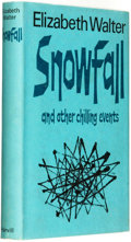 Books:Horror & Supernatural, Elizabeth Walter. Snowfall and Other Chilling Events.London: Harvill Press, [1965]. ...