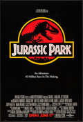 """Movie Posters:Science Fiction, Jurassic Park (Universal, 1993). One Sheet (26.75"""" X 39.75"""") SSAdvance. Science Fiction.. ..."""