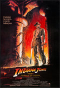 "Movie Posters:Adventure, Indiana Jones and the Temple of Doom (Paramount, 1984). One Sheet (27"" X 41""). Adventure.. ..."