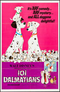 "Movie Posters:Animation, 101 Dalmatians & Others Lot (Buena Vista, R-1969). One Sheets (2) (27"" X 41""), Uncut Pressbooks (2) (Multiple Pages, 11"" X 1... (Total: 5 Items)"