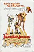 "Movie Posters:Adventure, The Incredible Journey & Others Lot (Buena Vista, R-1974). OneSheets (8) (27"" X 41""), Pressbooks (8) (Multiple Pages, 11"" X...(Total: 25 Items)"