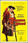 "Movie Posters:Adventure, Treasure Island & Others Lot (Buena Vista, R-1975). One Sheets(5) (27"" X 41""), Presskits (2) (9.5"" X 12""), Photos (8) &Min... (Total: 19 Items)"