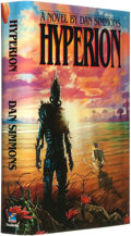 Books:Science Fiction & Fantasy, Dan Simmons. LIMITED/SIGNED CARD. Hyperion. New York, London, Toronto, Sydney, Auckland: Doubleday, [1989]....