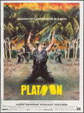 "Movie Posters:Academy Award Winners, Platoon (Orion, 1986). French Grande (47.25"" X 63""). Academy AwardWinners.. ..."
