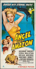 "Movie Posters:Adventure, Angel on the Amazon (Republic, 1948). Three Sheet (41"" X 80"").Adventure.. ..."