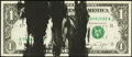 Error Notes:Ink Smears, Fr. 1908-K $1 1974 Federal Reserve Note. Choice CrispUncirculated.. ...
