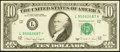 Error Notes:Miscellaneous Errors, Fr. 2028-A $10 1988A Federal Reserve Note. Very Fine.. ...