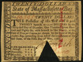 Colonial Notes:Massachusetts, Massachusetts May 5, 1780 $20 Choice About New, COC.. ...