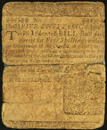 Colonial Notes:Delaware, Delaware June 1, 1759 5s Very Good.. ...