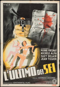 "Movie Posters:Foreign, The Last One of the Six (ENIC, 1940s). Italian Foglio (27"" X 39.5""). Foreign.. ..."