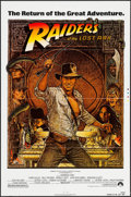 "Movie Posters:Adventure, Raiders of the Lost Ark (Paramount, R-1982). Printer's Proof OneSheet (27"" X 41""). Adventure.. ..."