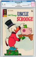 Bronze Age (1970-1979):Cartoon Character, Uncle Scrooge #98 White Mountain Pedigree (Gold Key, 1972) CGC NM 9.4 White pages....