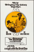 "Movie Posters:Comedy, The General/A Night with the Great One Combo & Other Lot(Joseph Brenner, R-1970). One Sheets (2) (27"" X 41""). Comedy.. ...(Total: 2 Items)"