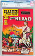 Golden Age (1938-1955):Classics Illustrated, Classics Illustrated #77 Homer's Iliad - First Edition - WhiteMountain Pedigree (Gilberton, 1951) CGC NM+ 9.6 White pages....