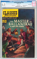 Golden Age (1938-1955):Classics Illustrated, Classics Illustrated #82 The Master of Ballantrae - First Edition - White Mountain Pedigree (Gilberton, 1951) CGC FN+ 6.5 Whit...
