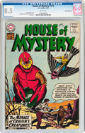 Silver Age (1956-1969):Horror, House of Mystery #112 White Mountain Pedigree (DC, 1961) CGC VF+8.5 White pages....