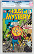 Silver Age (1956-1969):Science Fiction, House of Mystery #129 White Mountain Pedigree (DC, 1962) CGC NM-9.2 Off-white to white pages....