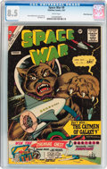 Silver Age (1956-1969):Science Fiction, Space War #9 White Mountain Pedigree (Charlton, 1961) CGC VF+ 8.5 White pages....
