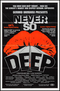 "Never So Deep & Others Lot (VCX, 1981). One Sheets (3) (25"" X 38""). Adult. ... (Total: 3 Items)"