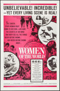 """Movie Posters:Documentary, Women of the World & Other Lot (Embassy, 1963). One Sheets (2) (27"""" X 41""""), and Lobby Card Set of 4 (11"""" X 14""""). Documentary... (Total: 6 Items)"""