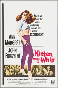 "Kitten with a Whip (Universal, 1964). One Sheet (27"" X 41""). Bad Girl"