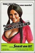 "Movie Posters:Sexploitation, Supervixens (RM Films, 1975). One Sheet (27"" X 41""). Sexploitation.. ..."