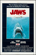 """Movie Posters:Horror, Jaws (Universal, 1975). One Sheet (27"""" X 41""""). Horror.. ..."""