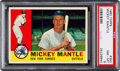 Baseball Cards:Singles (1960-1969), 1960 Topps Mickey Mantle #350 PSA NM-MT 8....