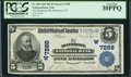 National Bank Notes:Colorado, Montrose, CO - $5 1902 Plain Back Fr. 598 The Montrose NB Ch. #(W)7288. ...
