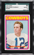 Football Cards:Singles (1970-Now), 1972 Topps Roger Staubach #200 SGC 92 NM/MT+ 8.5....