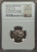 Ancients:Celtic, Ancients: BRITAIN. Durotriges. Ca. 65 BC-AD 45. BI stater (4.79gm)....