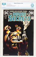 Bronze Age (1970-1979):Horror, House of Secrets #103 (DC, 1972) CBCS VF 8.0 White pages....