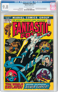 Fantastic Four #123 (Marvel, 1972) CGC NM/MT 9.8 Off-white to white pages